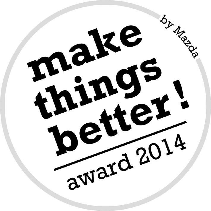 """Mazda verleiht erneut den """"Mazda Make Things Better Award"""""""