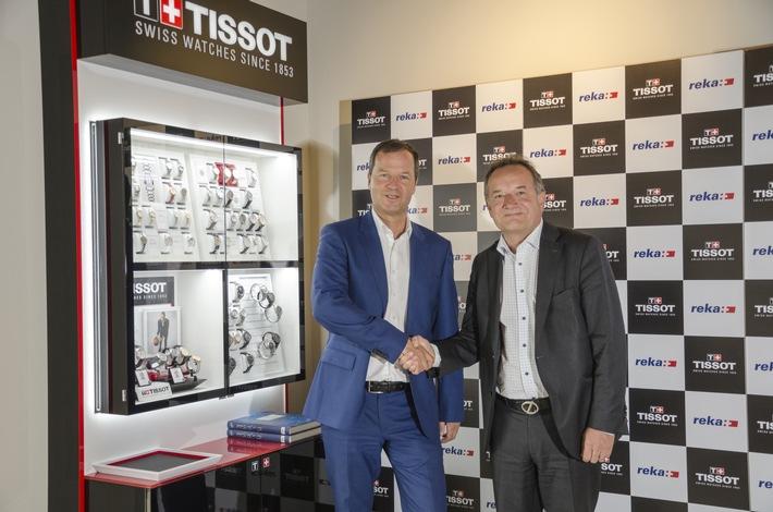 Reka und Tissot - neue Partnerschaft, gemeinsames Tourismuskonzept im Jura / Reka-Feriendorf Montfaucon neu ganz im Zeichen der Zeit