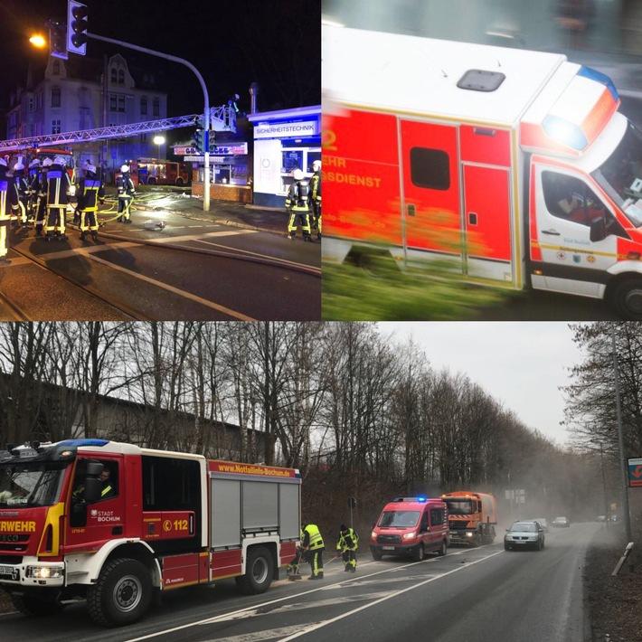 FW-BO: Bochumer Feuerwehr im Dauereinsatz
