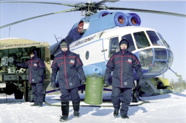 """Auf der A+A 2001: Zwischenbilanz des """"Projektes Sibirien"""" / Arbeitsschutzbekleidungssysteme im Test unter klimatischen Extrembedingungen - internationaler Erfahrungsaustausch"""