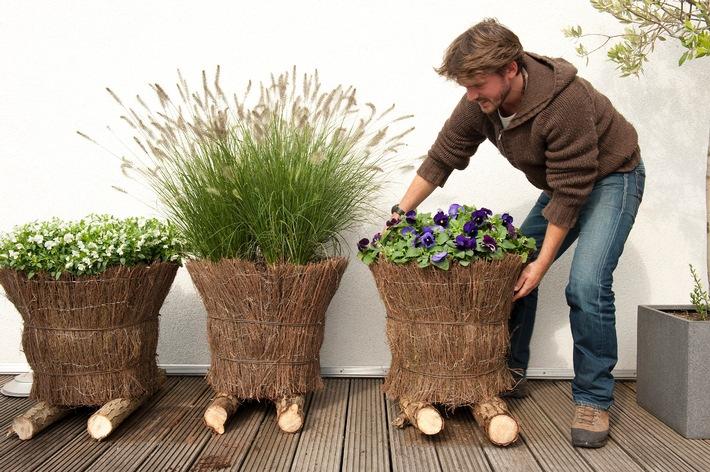 Gr ne oasen mit wenig aufwand selber pflanzen und bis in for Topfpflanzen dekorieren