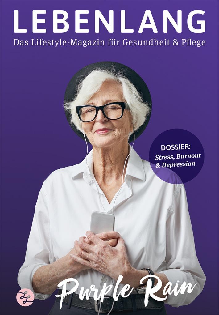 """Kampf der Depression: Digitales Magazin """"Lebenlang"""" zeigt Wege zur menschlichen und ganzheitlichen Medizin (FOTO)"""