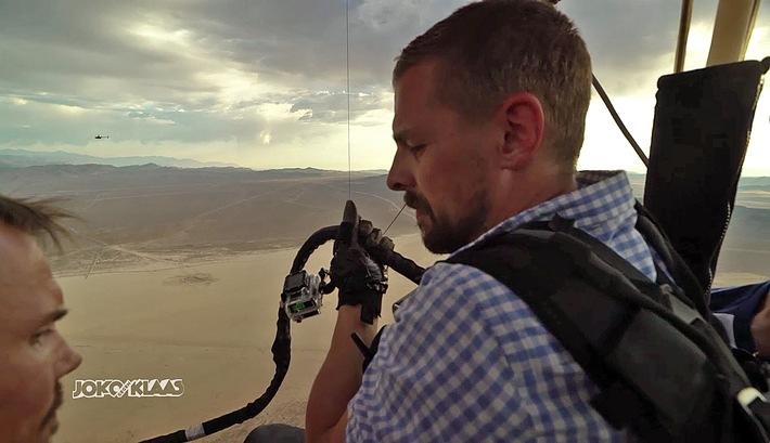 Freier Fall In Der Wüste Von Nevada Joko Gegen Klaas Das