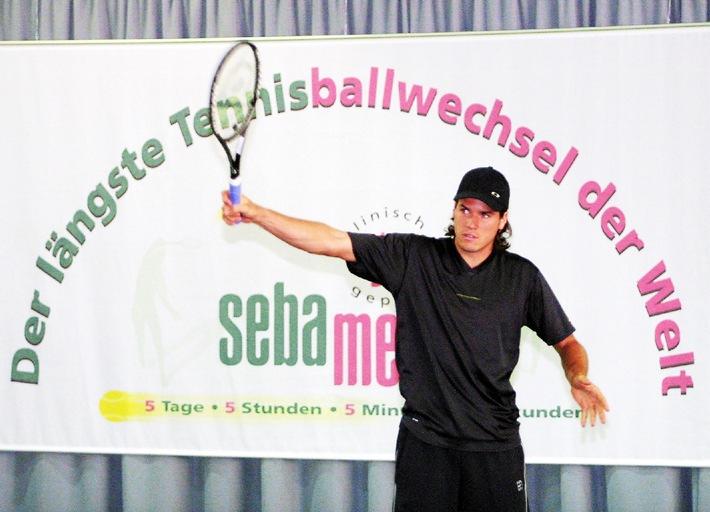 Dauertennis-Weltrekord mit Tommy Haas