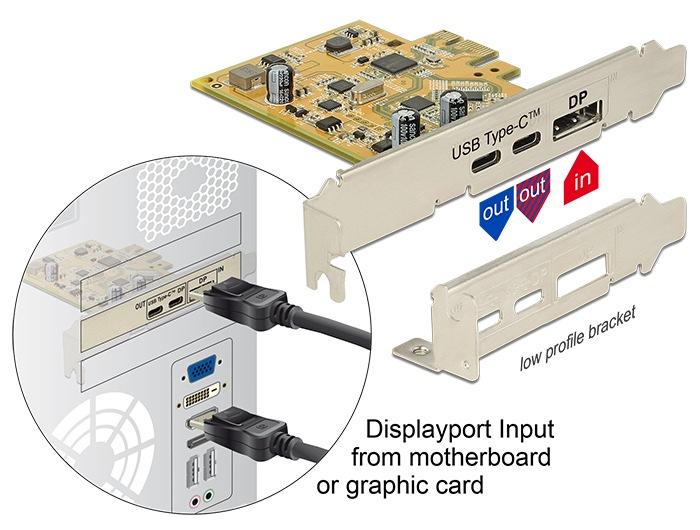 Delock PCI Express Karte DL-89582