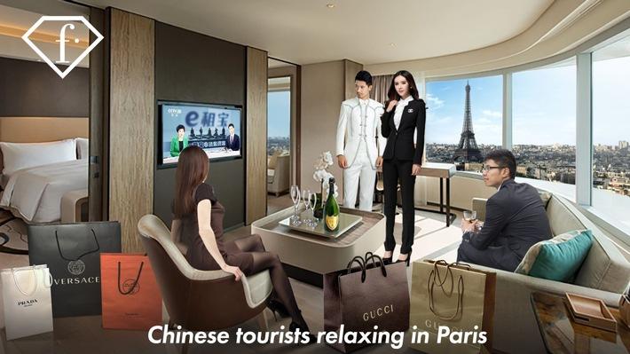 Fashion TV bringt 25 chinesische Fernsehsender in die Hotelzimmer von 230 Millionen chinesischen Touristen weltweit. - BILD