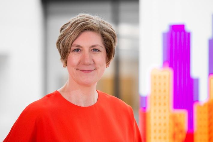 Inger Paus, Vorsitzende der Geschäftsführung der Vodafone Stiftung sowie Geschäftsführerin des Vodafone Instituts für Gesellschaft und Kommunikation