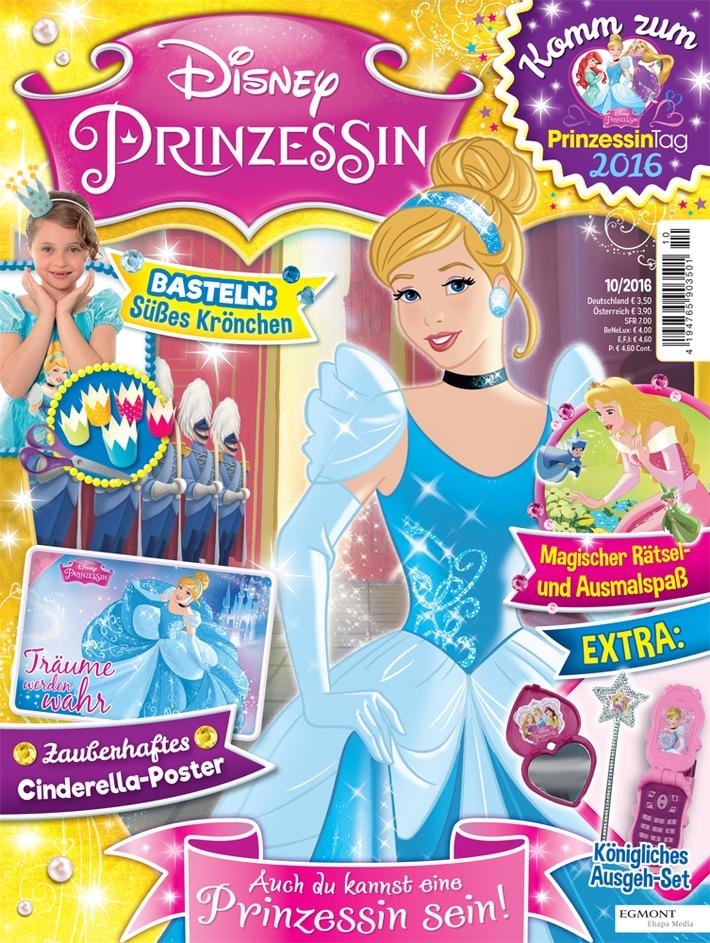 Egmont Ehapa Launcht Toy Story Magazin: Ehapa Lädt Deutschlandweit Zum Disney Prinzessin-Tag