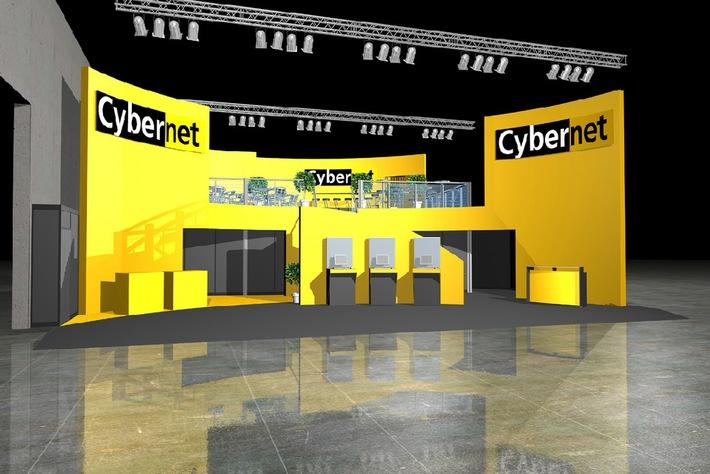 Cybernet mit Swisscom Mobile Service an der Orbit-iEX 06