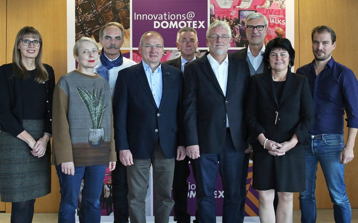 Innovations@DOMOTEX 2015: Die Jury hat entschieden