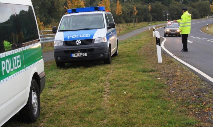 Schwerpunktkontrollen zur Bekämpfung von Wohnungseinbrüchen im gesamten Weserbergland