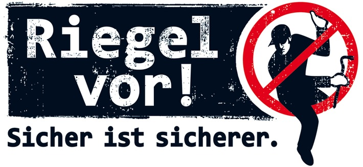 """Logo """"Riegel vor!"""""""