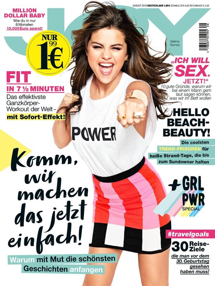 """JOY-Cover 08/2018. Weiterer Text über ots und www.presseportal.de/nr/32925 / Die Verwendung dieses Bildes ist für redaktionelle Zwecke honorarfrei. Veröffentlichung bitte unter Quellenangabe: """"obs/Bauer Media Group, JOY/JOY"""""""