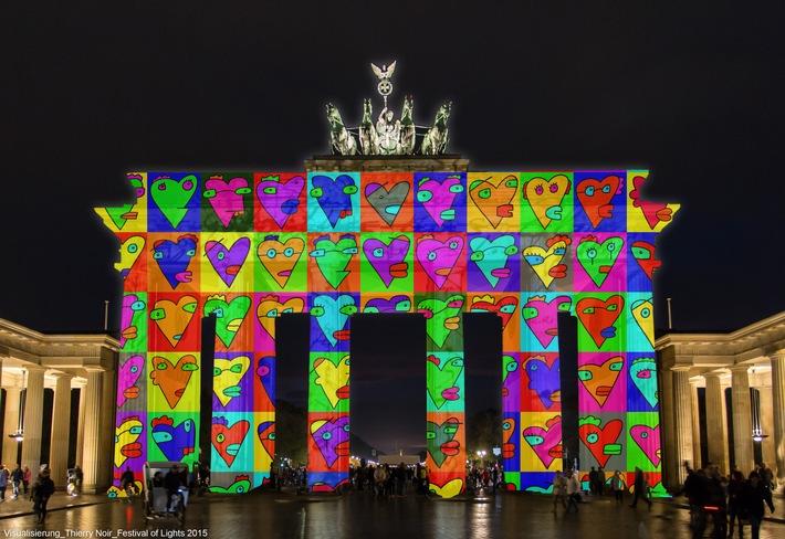 Festival of Lights: Auftakt zur Weltmeisterschaft im 3D-Videomapping auf dem Brandenburger Tor