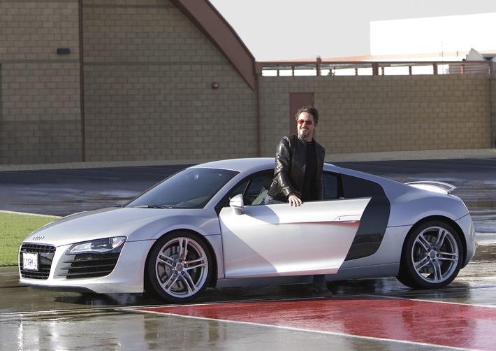 """""""Iron Man"""" und Audi R8: Vorsprung durch Technik"""