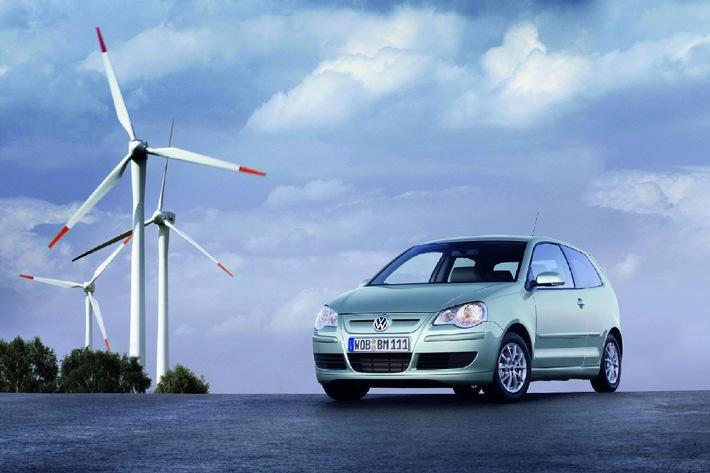 Energieeffiziente Fahrzeuge: VW hat sie!
