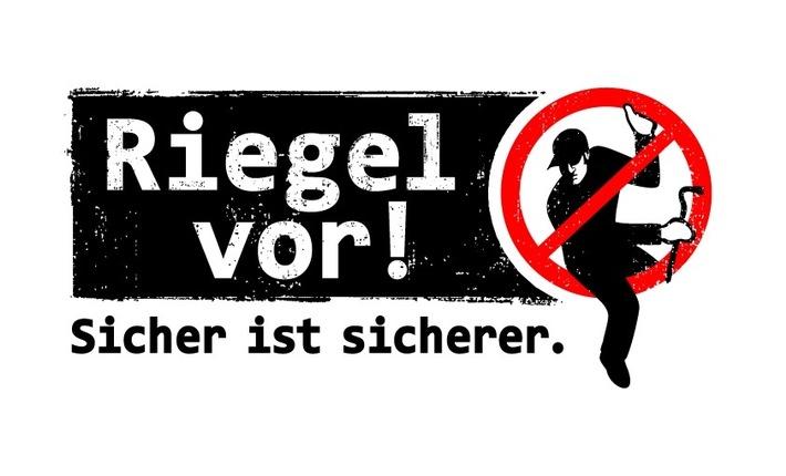 """POL-DN: """"Riegel vor! Sicher ist sicherer."""" - Aktionswoche steht bevor"""