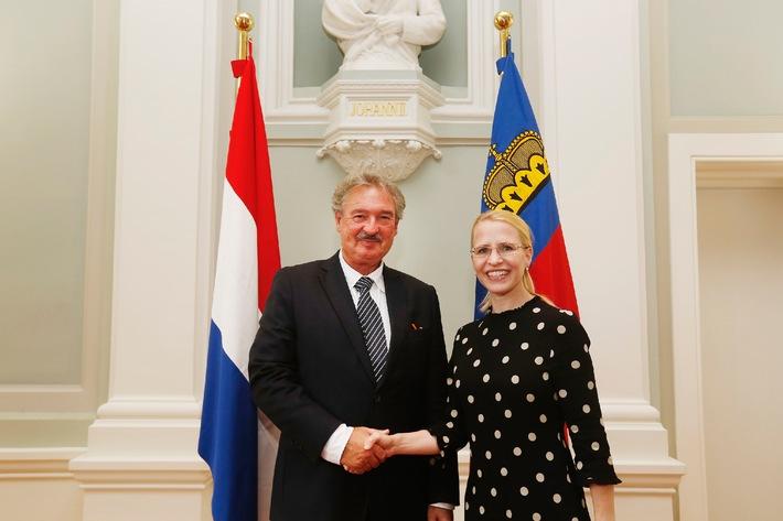 ikr: Aussenminister Jean Asselborn auf Besuch in Liechtenstein
