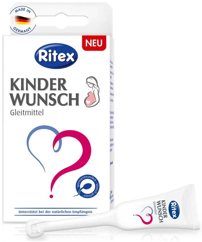 Gleitmittel bei Kinderwunsch / Ritex investiert in neuen Produktbereich