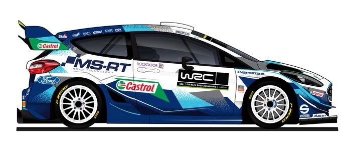 """Bereit für die """"Monte"""": M-Sport Ford startet mit drei Nachwuchstalenten in die Rallye-Weltmeisterschaft 2021"""