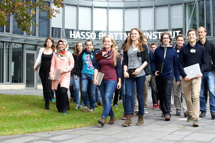 Studienstart leicht gemacht: Am Hasso-Plattner-Institut nehmen Paten die Erstsemester in Empfang
