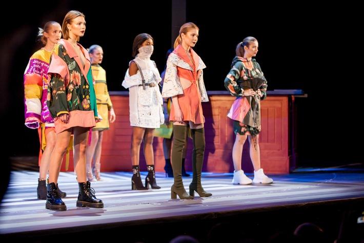 Showhighlight im Schauspielhaus Düsseldorf / AMD und OEKO-TEX® präsentieren nachhaltige Designs auf der EXIT.2019 (FOTO)