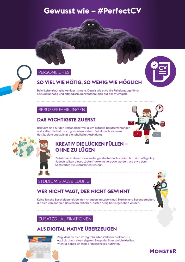 ▷ Die wichtigste Investition im Job - das Lebenslaufdokument ...