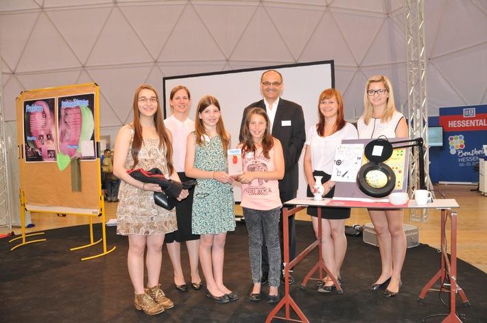 CBM zeichnet junge Erfinder aus / Hessentag: Verleihung der Jugend-forscht-Bundessonderpreise