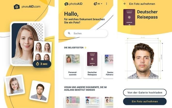 Wie einfach ist es, ein Passfoto mit Ihrem Telefon zu machen? / Weiterer Text über ots und www.presseportal.de/nr/155529 / Die Verwendung dieses Bildes ist für redaktionelle Zwecke unter Beachtung ggf. genannter Nutzungsbedingungen honorarfrei. Veröffentlichung bitte mit Bildrechte-Hinweis.