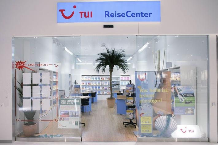 Neues TUI ReiseCenter in der Shopping Arena St. Gallen - Umfassendes Ferienangebot an zentraler Lage