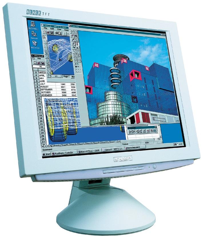 Vertriebsinitiative des TFT-Leaders Sharp Electronics