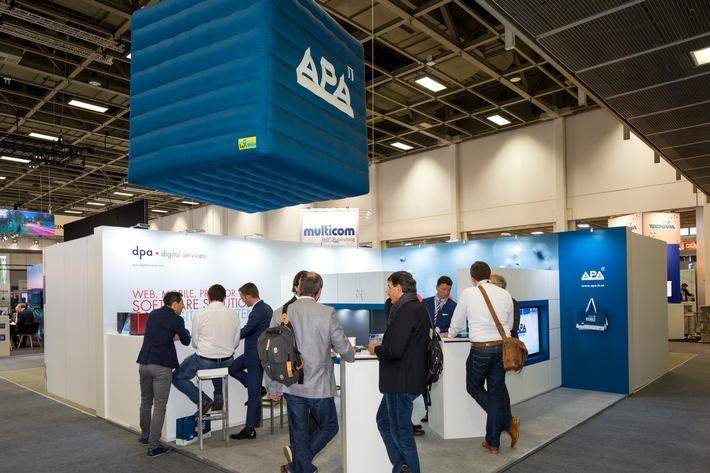World Publishing Expo & Digital Content Expo: APA-IT zieht erfolgreiche Bilanz - BILD