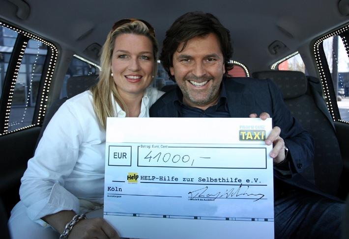 """51.000 Euro im """"Promi Quiz Taxi"""" erspielt ..."""