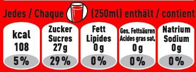 ▷ Coca-Cola erleichtert Information über Nährwerte mit neuen ...