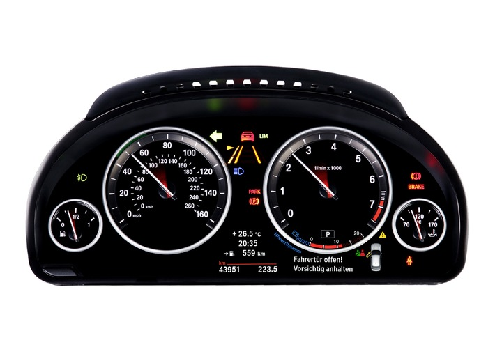 Inverse forming technology from Johnson Controls lifts instrument cluster image quality to new heights / Uniting technological precision and sophisticated craftsmanship in the instrument cluster