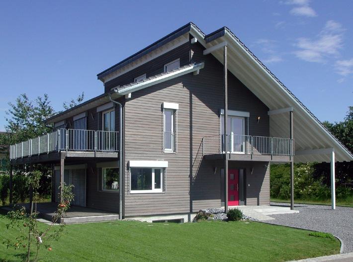 Erstes Klimaschutzhaus der Schweiz im Kanton Aargau