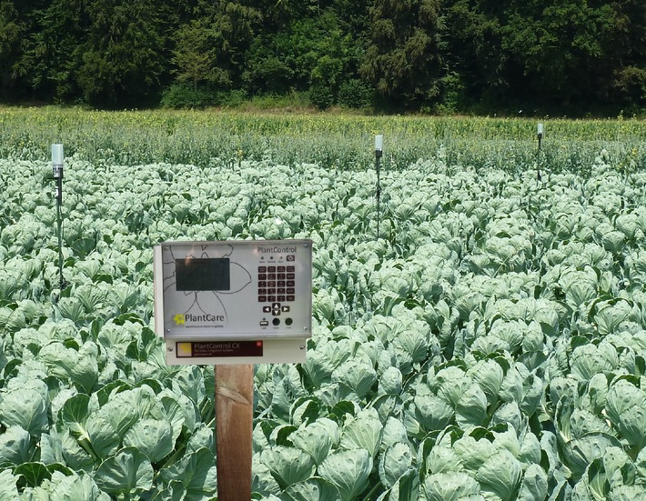 Breakthrough in agricultural irrigation: PlantCare's invention supports sustainable world food production (PICTURE)