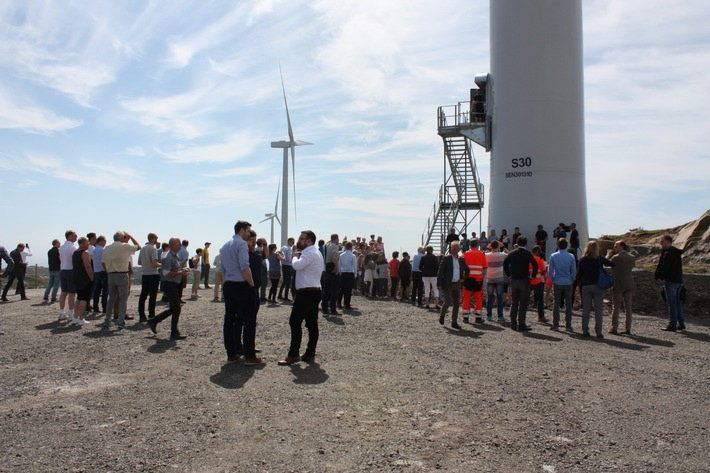 Grand Opening Egersund Windpark