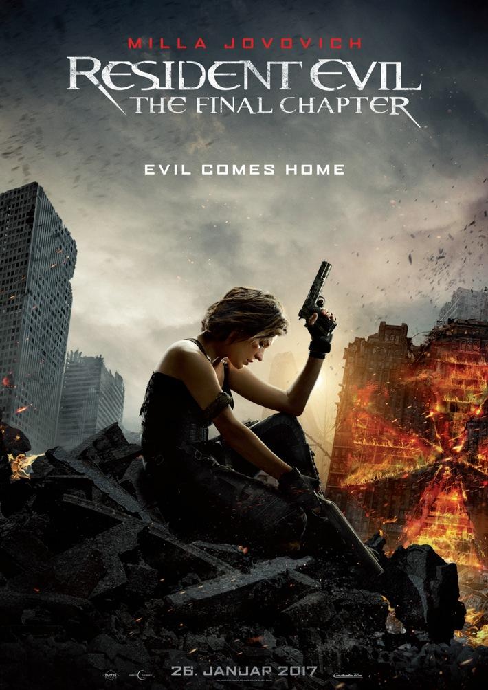 RESIDENT EVIL: THE FINAL CHAPTER / Neuer Trailer ab sofort online