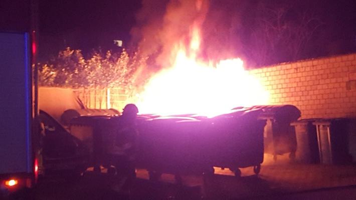 POL-PDWO: Feuerteufel unterwegs?