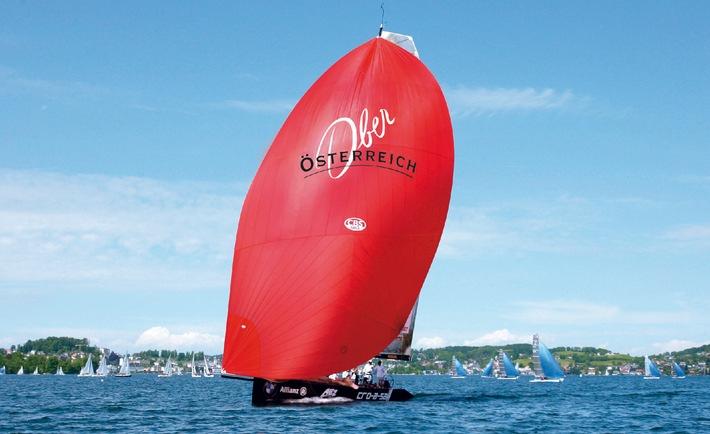 Segel-Events am Traunsee bringen den Tourismus in Fahrt - BILD