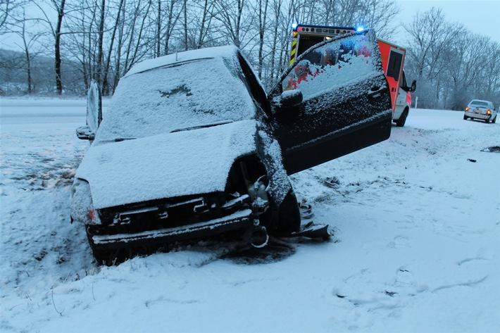 POL-HX: Der Winter ist noch nicht vorbei!