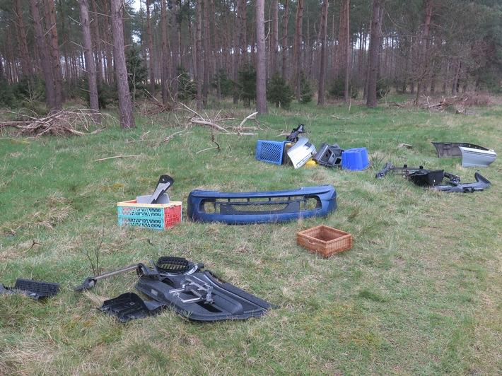 POL-DEL: Landkreis Oldenburg: Unerlaubte Abfallentsorgung in Großenkneten +++ Zeugenaufruf