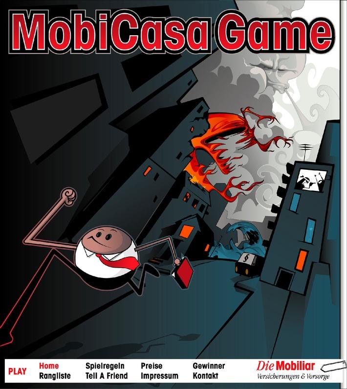 Mobiliar lanciert Online-Game zur Haushaltversicherung MobiCasa Multirisk