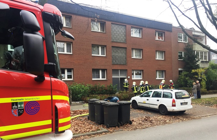 FW-GE: Kellerbrand im Stadtteil Horst