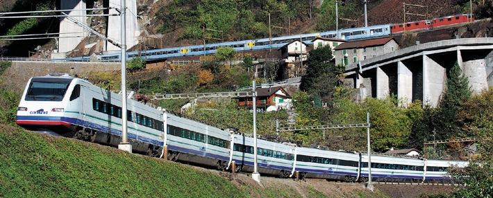 Ampliamento del parco veicoli di Cisalpino nel traffico internazionale transalpino