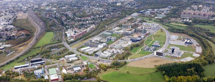 """Ecosystem RWTH Aachen Campus (Campus GmbH/Steindl) / Further text via Weiterer Text über ots und www.presseportal.de/nr/126941 / Die Verwendung dieses Bildes ist für redaktionelle Zwecke honorarfrei. Veröffentlichung bitte unter Quellenangabe: """"obs/RWTH Aachen Campus GmbH"""""""