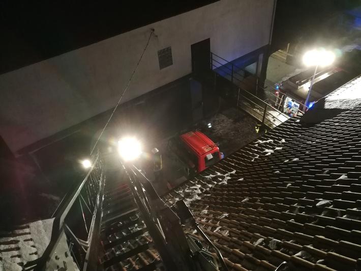 FW-EN: Kaminbrand in Breckerfeld