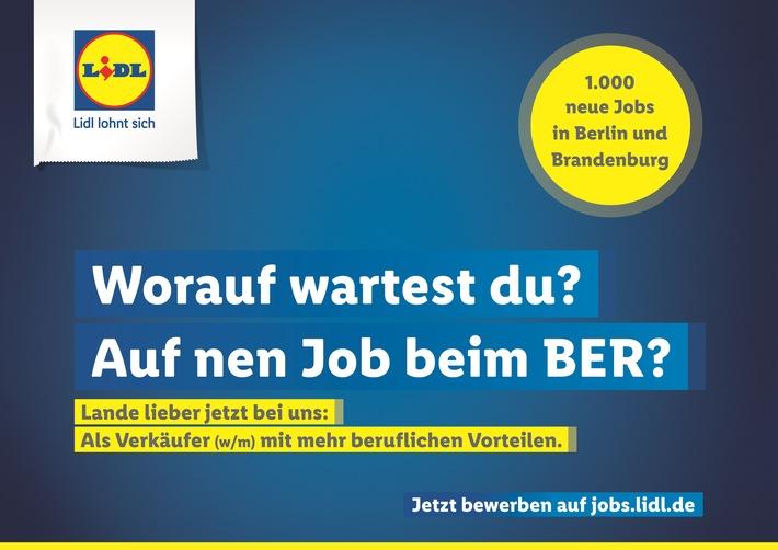 arbeitgeber von morgen lidl stellt 1000 neue kollegen in berlin und brandenburg ein lidl rstet sich fr die zukunft und bietet spannende jobs mit - Lidl Online Bewerbung