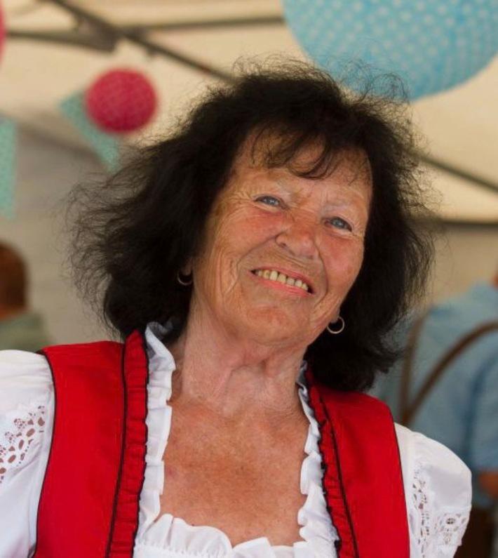 Foto der vermissten 84-jährigen Frau aus Waldalgesheim